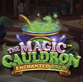 Логотип The Magic Cauldron – Enchanted Brew