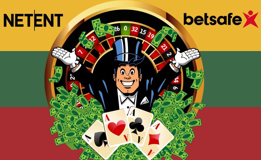 NetEnt и Betsafe запускают в Литве live-казино
