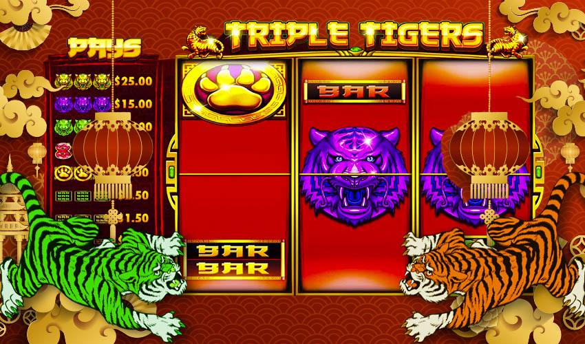 Подложка Triple Tigers