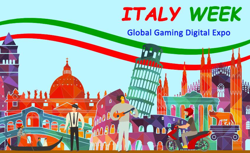 Неделя Италии: первая виртуальная выставка, посвященная гемблингу в Италии