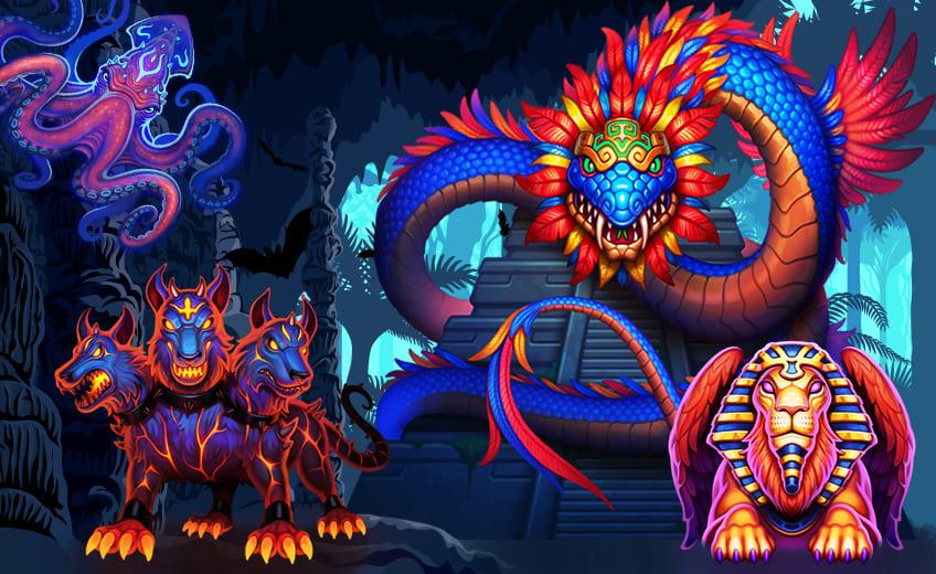 Чудовища в слотах Thunderkick – серия игр Beat the Beast