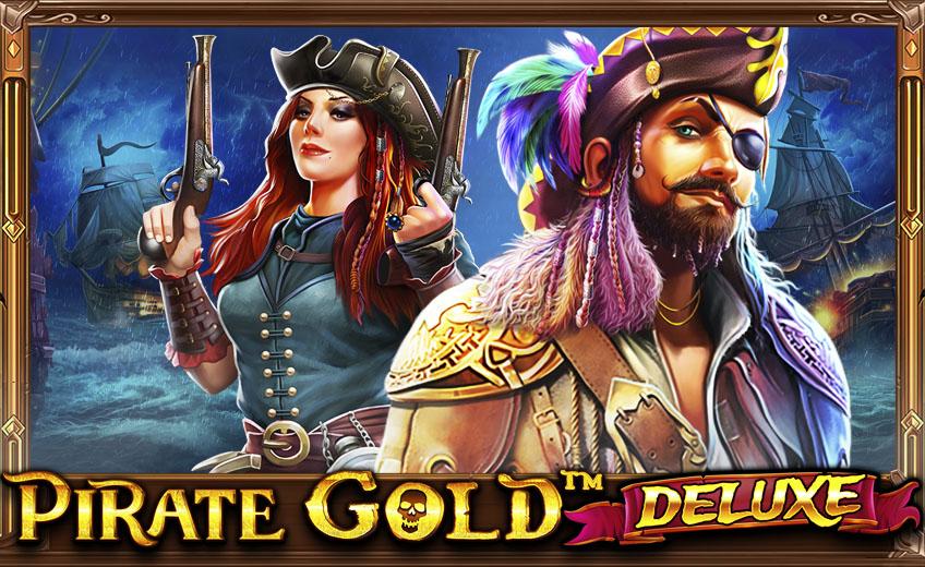 Охота за сокровищами в слоте Pirate Gold Deluxe