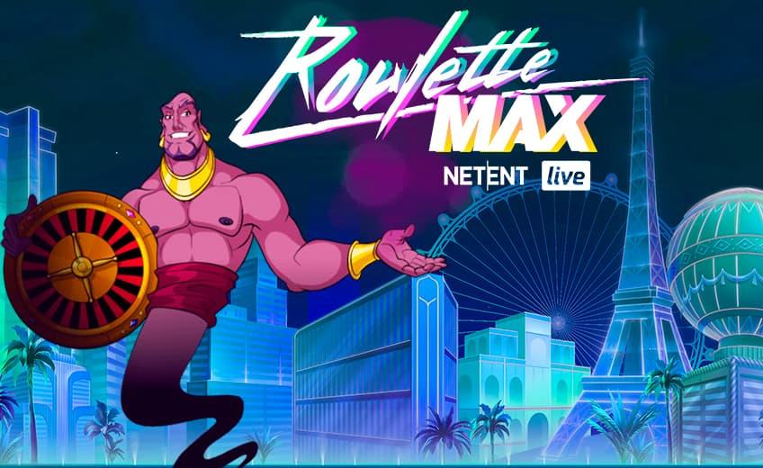 NetEnt запускает Roulette MAX – инновационное развлечение для live-казино