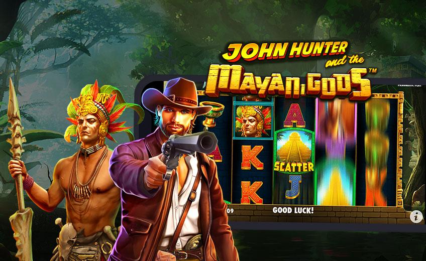 Новая серия о приключениях Джона Хантера в аппарате John Hunter and the Mayan Gods от Pragmatic Play