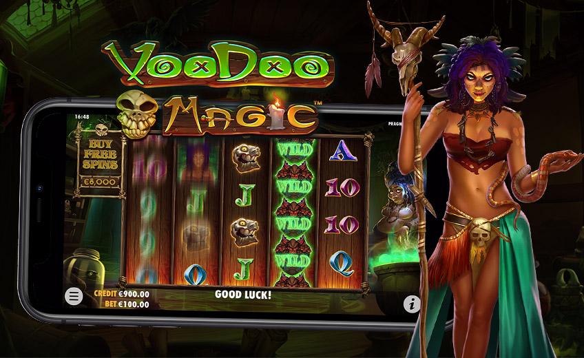 Voodoo Magic – отличное начало года для студии Pragmatic Play