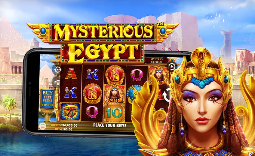 Mysterious Egypt: загадочные выигрыши в новом слоте от Pragmatic Play