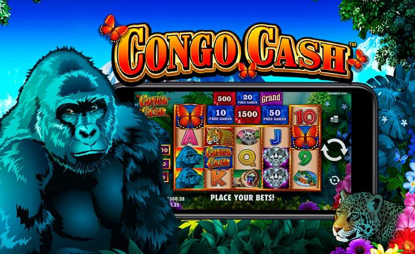 Новый слот Congo Cash: до 100 фриспинов и джекпот ×2000