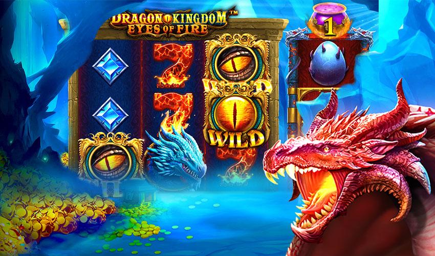 Подложка Dragon Kingdom – Eyes of Fire