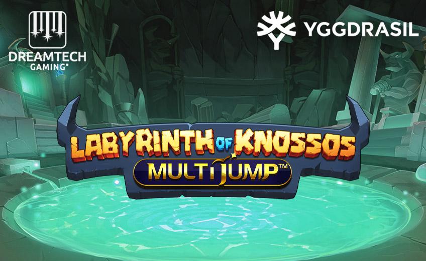 Yggdrasil выпустила игровой автомат Labyrinth of Knossos, главной опцией которого стала механика MultiJump