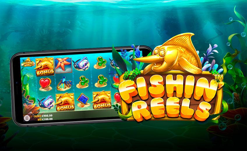 Улов до ×1200 ставок в новом слоте Fishin' Reels от Pragmatic Play