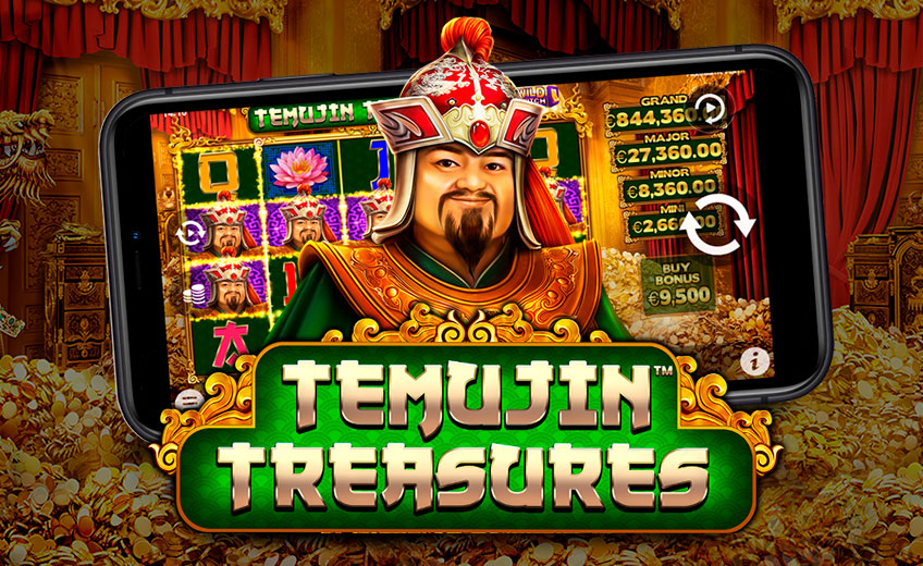 Temujin Treasures – игровой автомат от студии Pragmatic Play с множеством бонусов