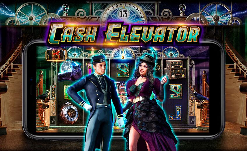 Выигрыш до ×20 000 и 13 уровней игры в новом слоте Cash Elevator от Pragmatic Play