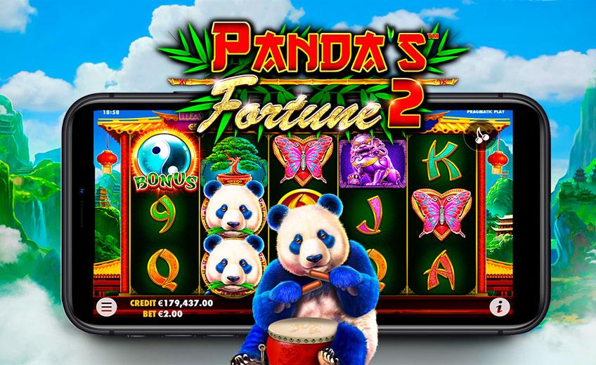 Золотые символы и джекпоты в новом слоте Panda Fortune 2 от Pragmatic Play