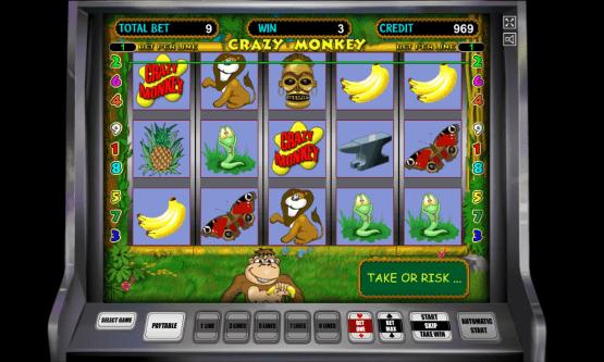 Скриншот 2 Crazy Monkey