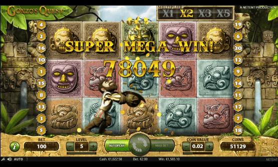 Скриншот 1 Gonzo's Quest