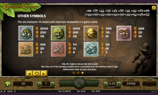 Скриншот 3 Gonzo's Quest