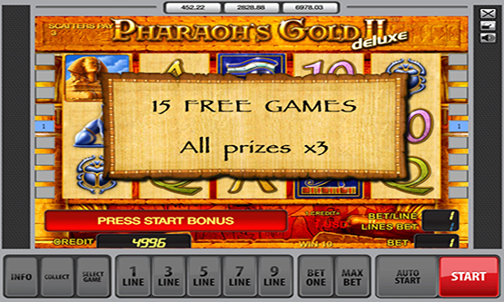 Скриншот 2 Pharaon's Gold