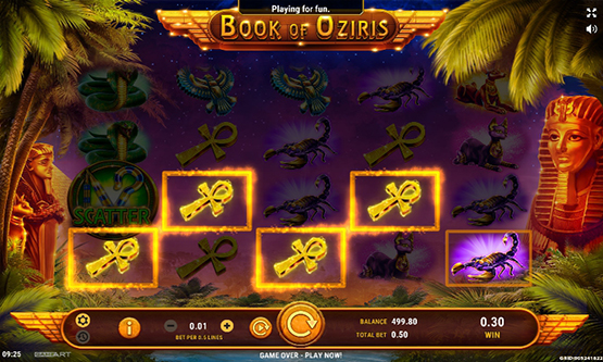 Скриншот 2 Book of Oziris