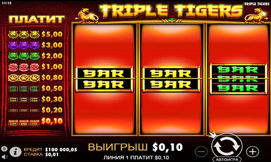 Скриншот 2 Triple Tigers