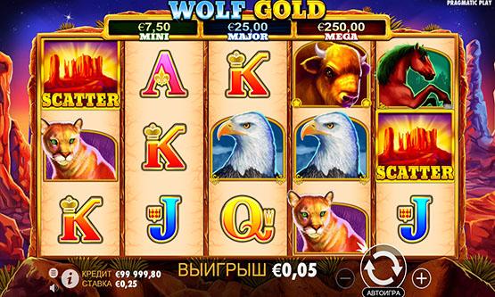 Скриншот 1 Wolf Gold