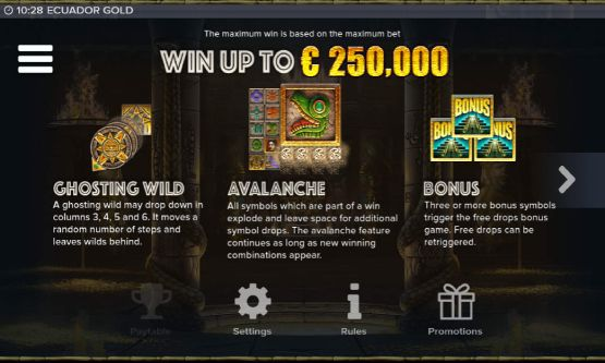 Скриншот 3 Ecuador Gold